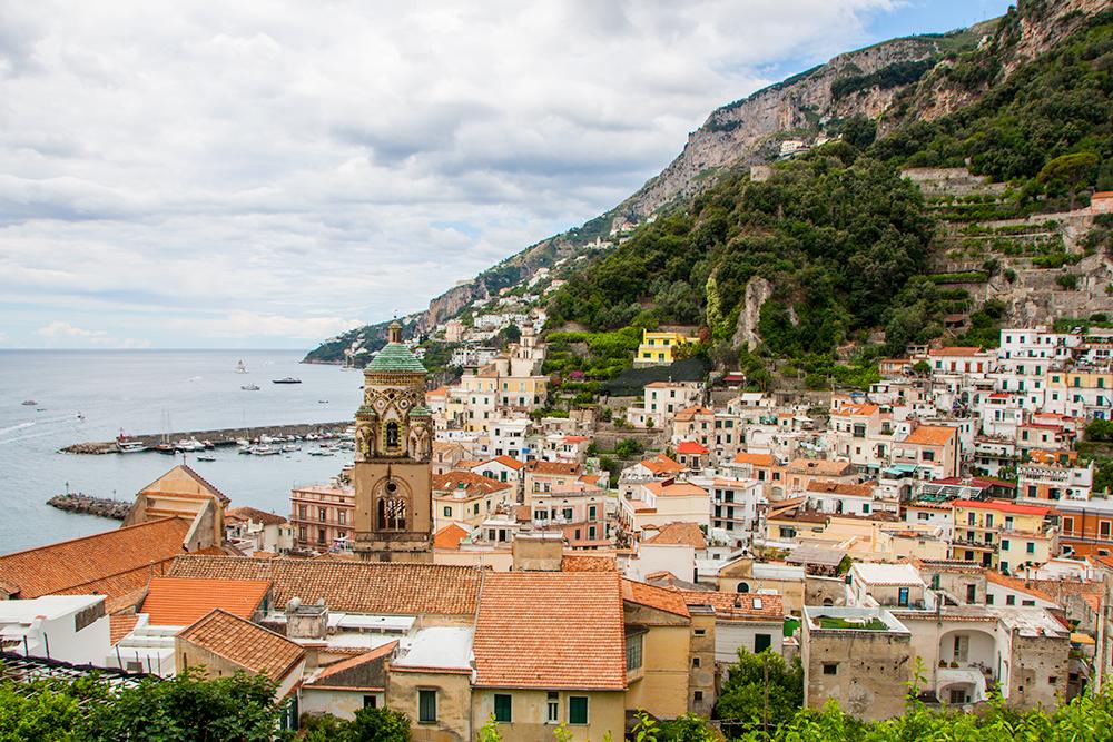 Retki Amalfille – elämäni jännittävin bussimatka.