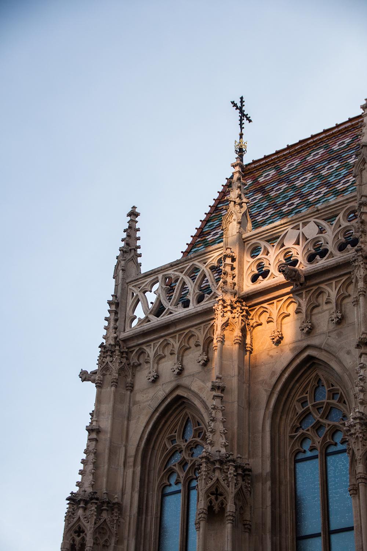 Budapest – Linnavuori ja kaupunkinäkymiä yläilmoista käsin.