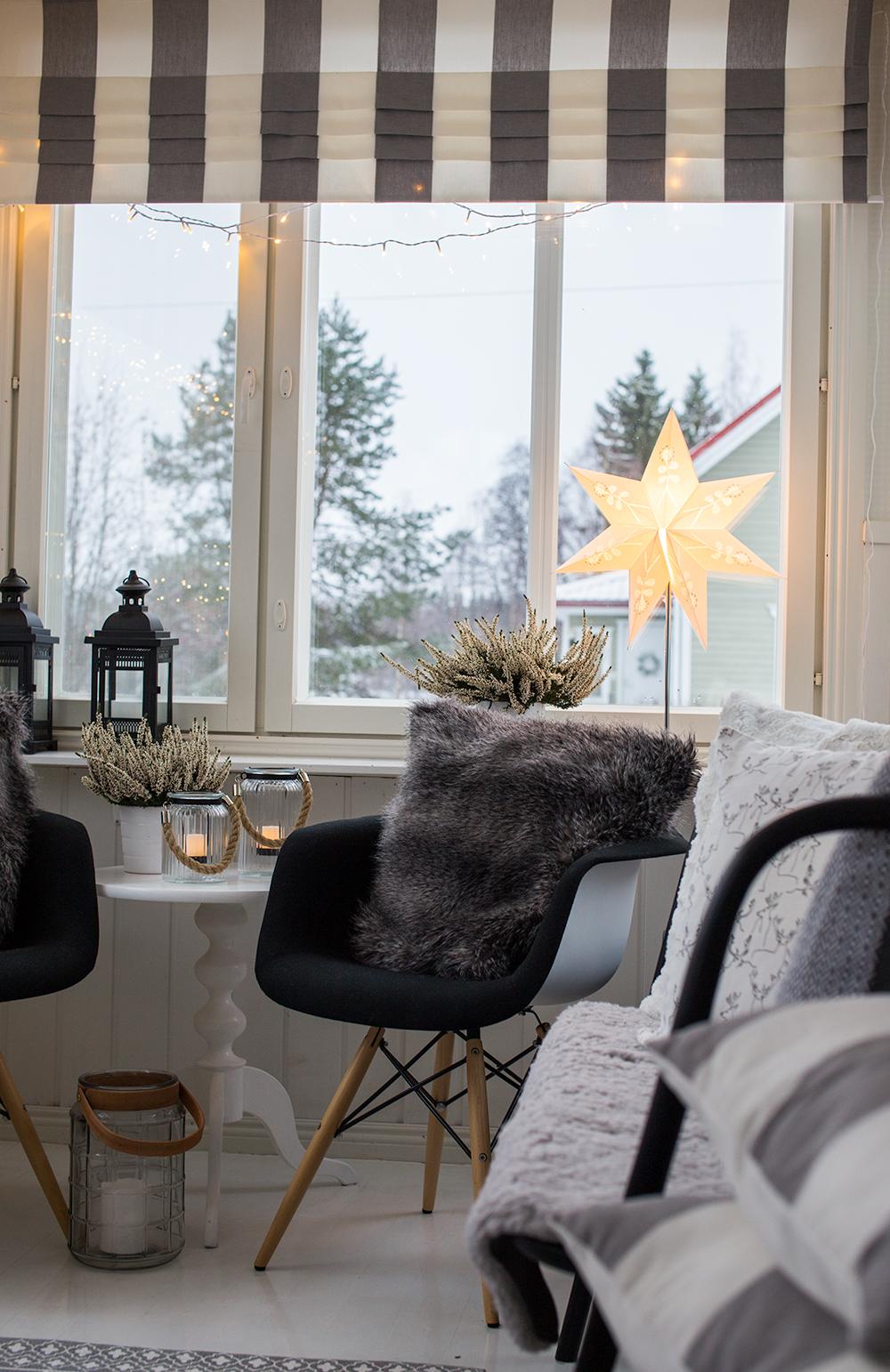 Valoja verannalla ja jännittäviä tilanteita