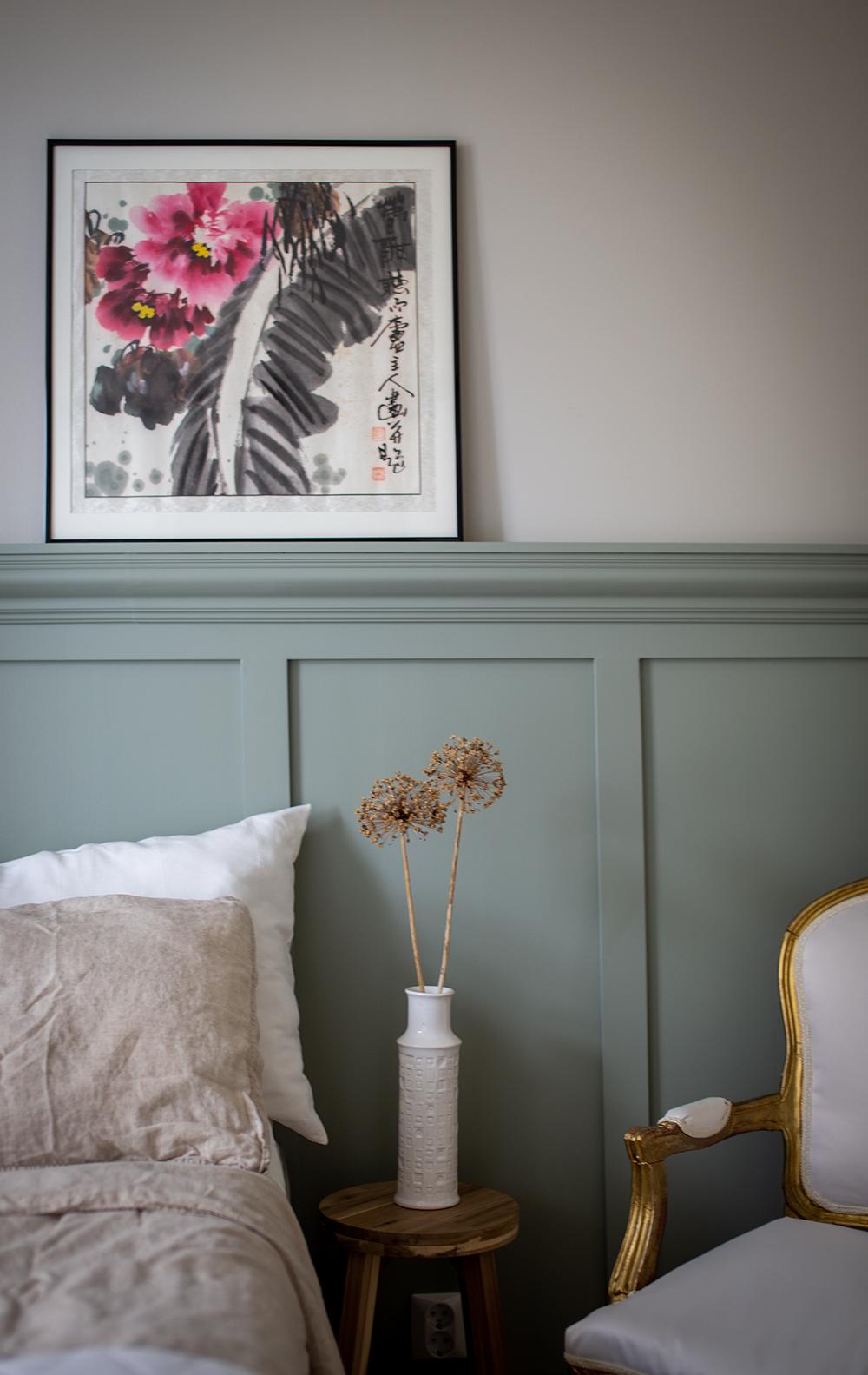 Tee itse koristepaneeliseinä – makuuhuoneen muutos