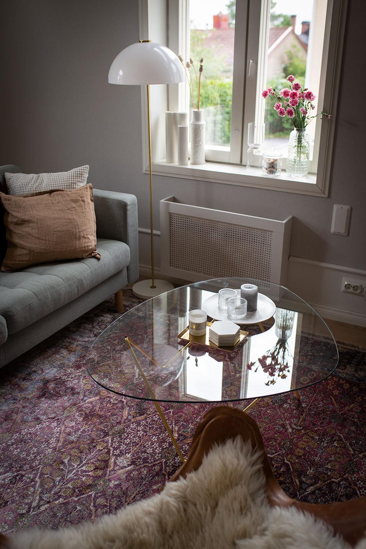 Olohuoneen remontti – ennen – jälkeen
